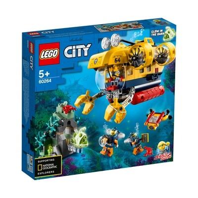 Lego City le sous-marin d'exploration