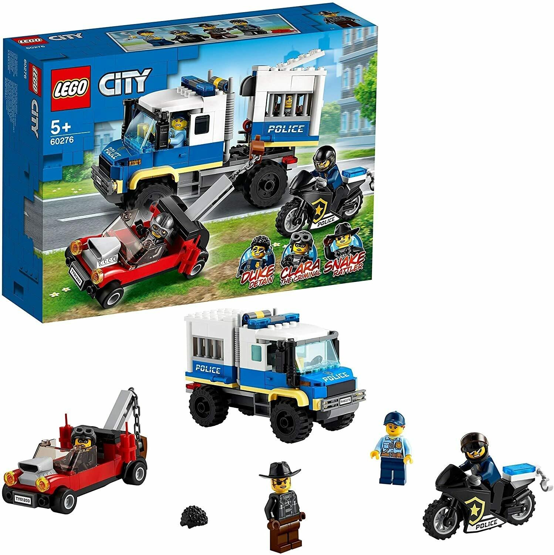 Lego City le transport des prisonniers