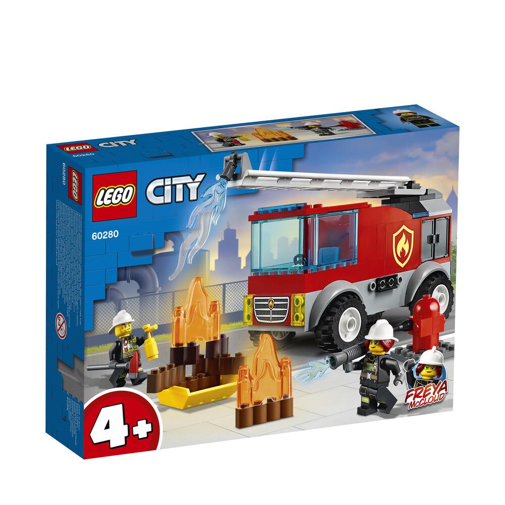 Lego City le camion des pompiers