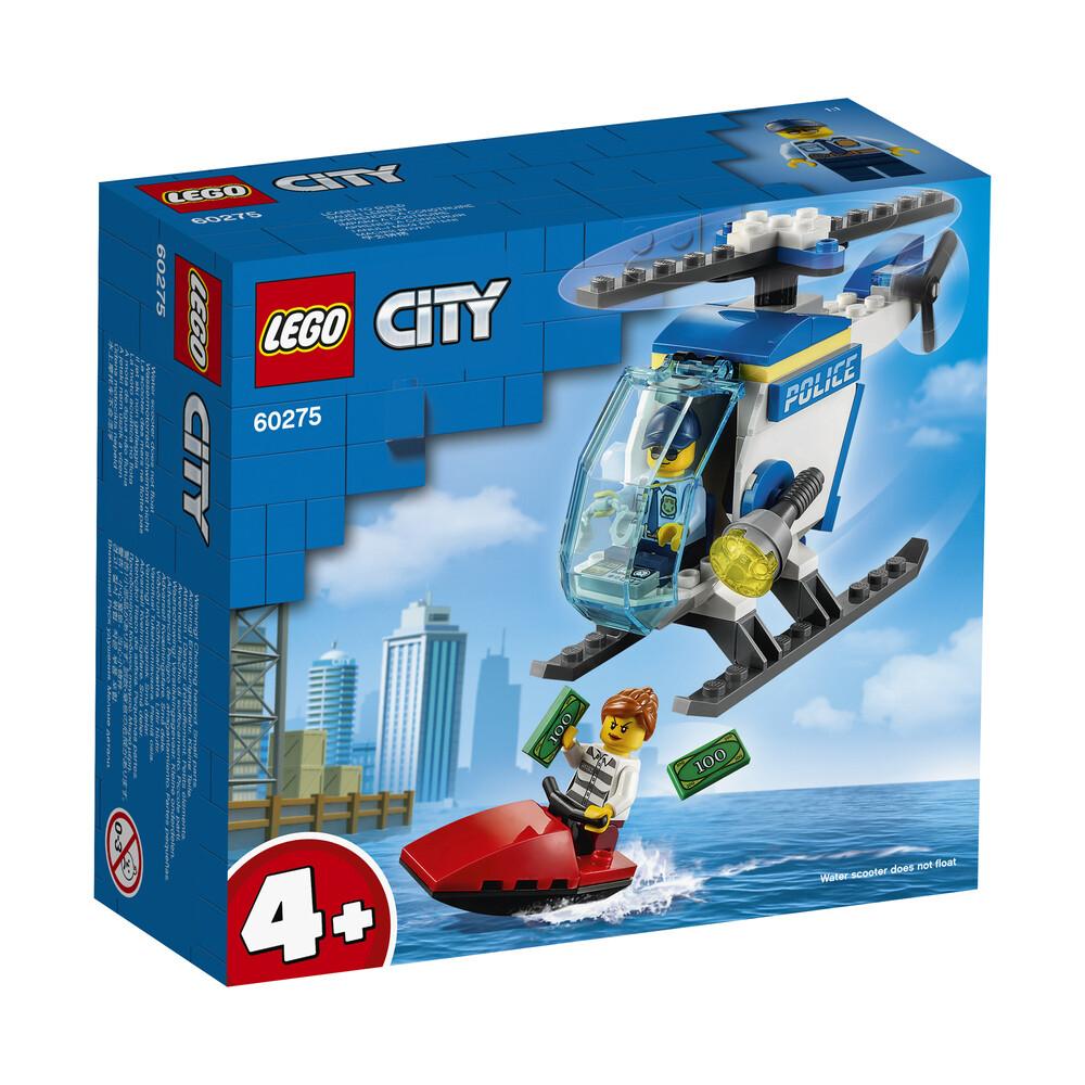 Lego City l'hélicoptère de police