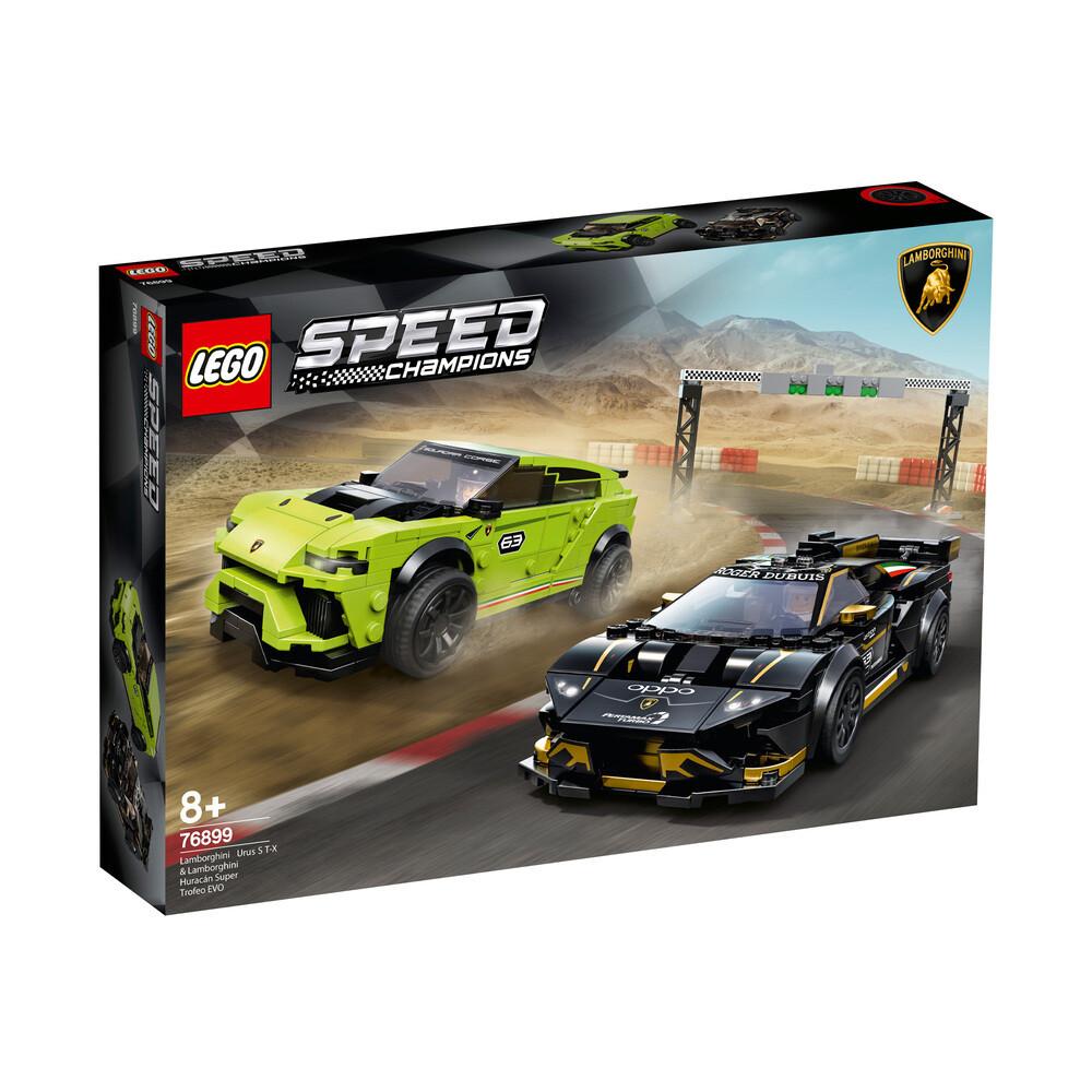 Lego Speed Lamborghini Urus ST-X & Lamborghini Huracan Super Trofeo EVO