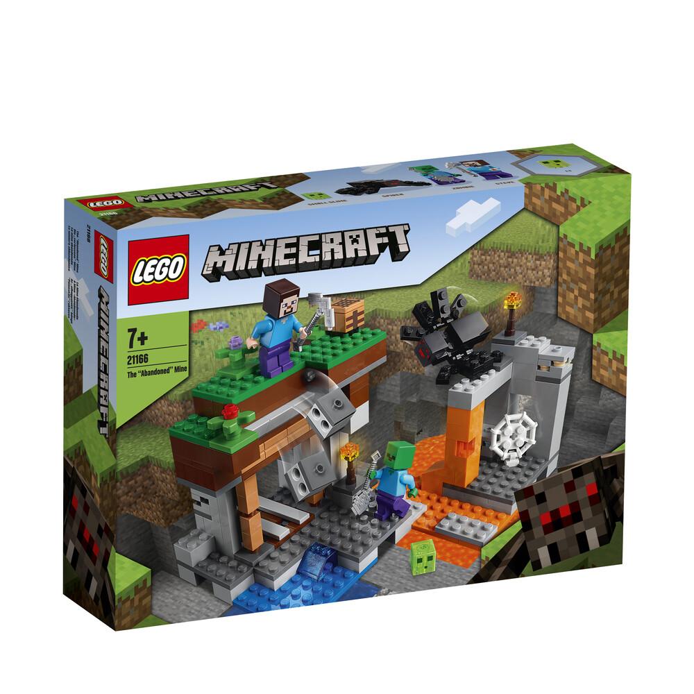 Lego Minecraft la mine abandonnée