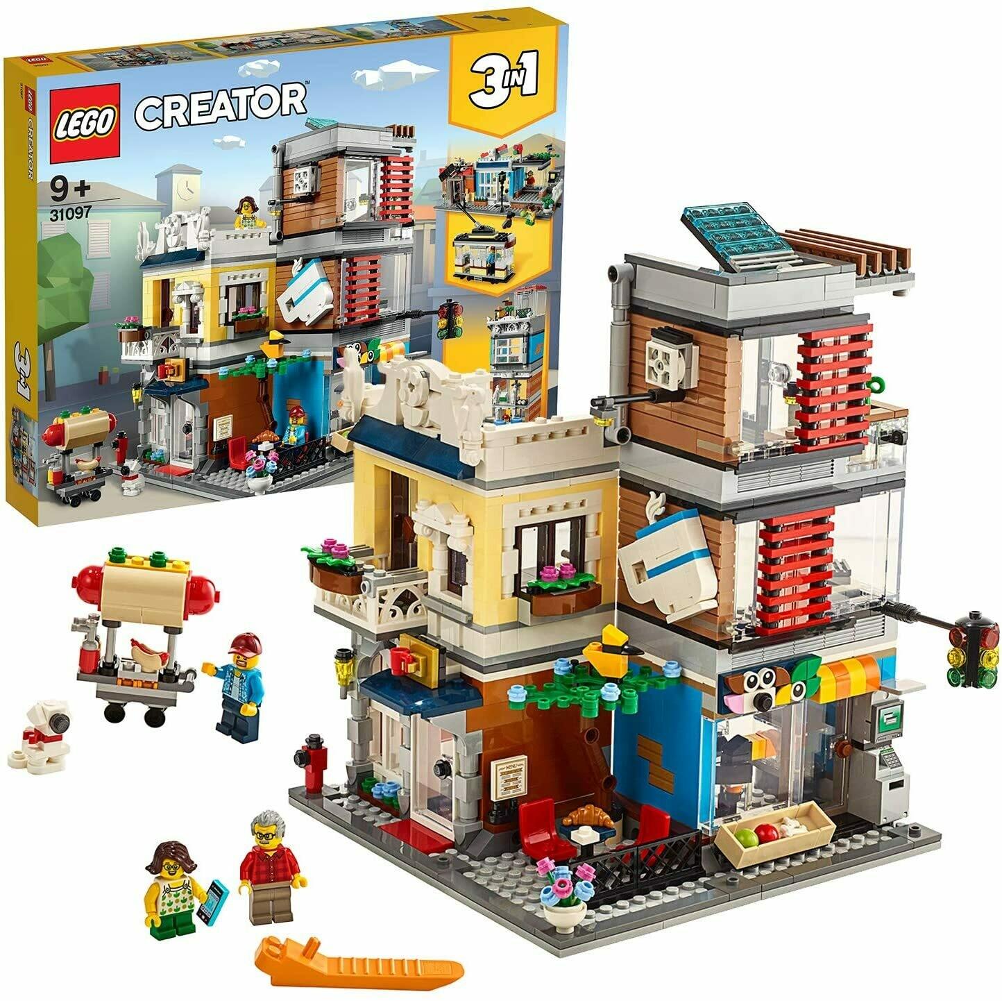 Lego Creator l'animalerie et le café 3 en 1