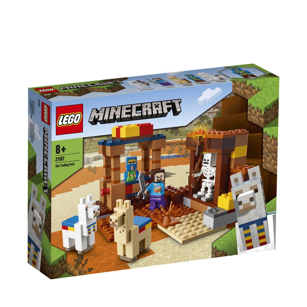 Lego Minecraft le comptoir d'échange