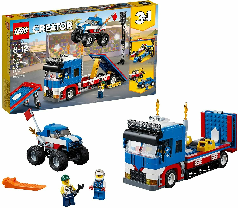 Lego Creator le spectacle des cascadeurs 3 en 1