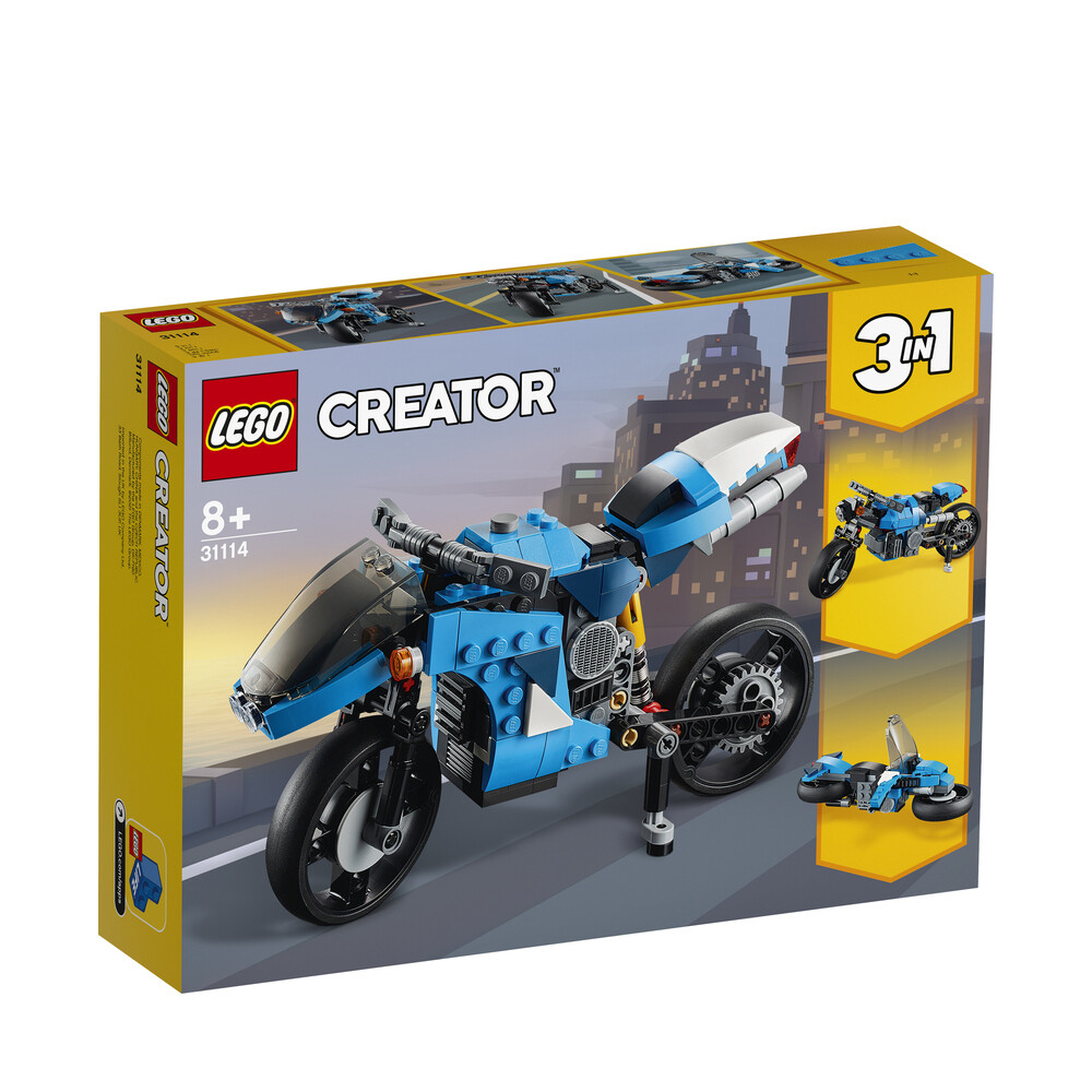 Lego Creator la super moto  3 en 1