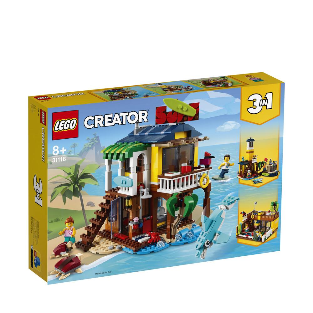 Lego Creator la maison sur la plage du surfeur 3 en 1