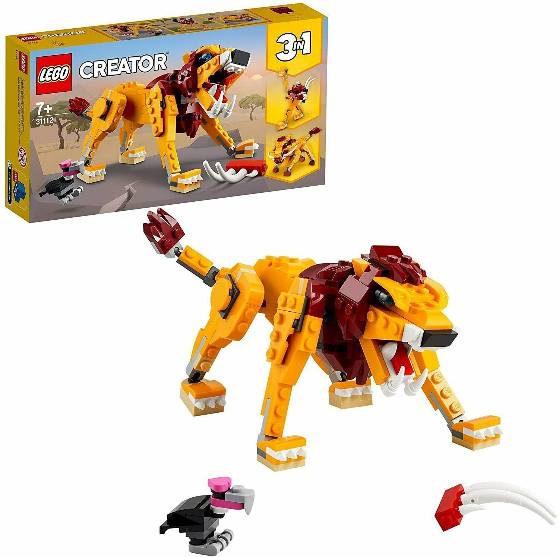 Lego Creator le lion sauvage 3 en 1