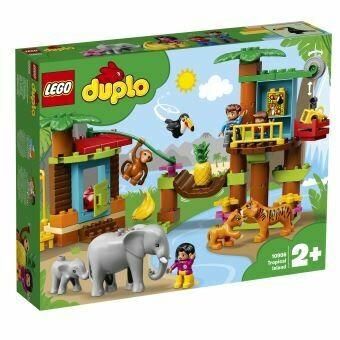Lego Duplo l'île tropicale
