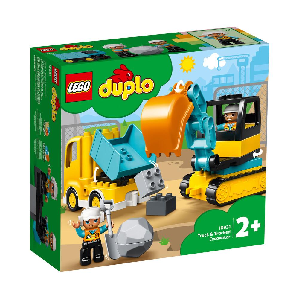 Lego Duplo le camion et la pelleteuse
