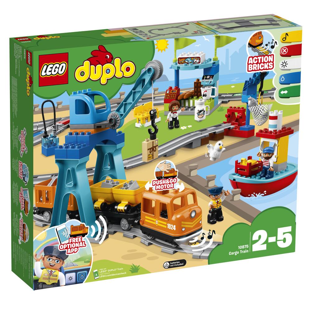 Lego Duplo le train de marchandises
