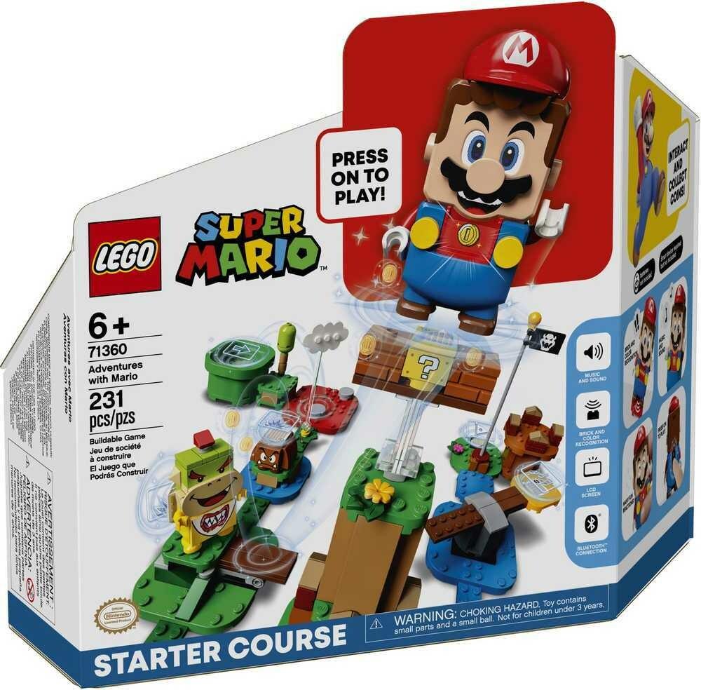Lego Super Mario Pack de démarrage les Aventures de Mario