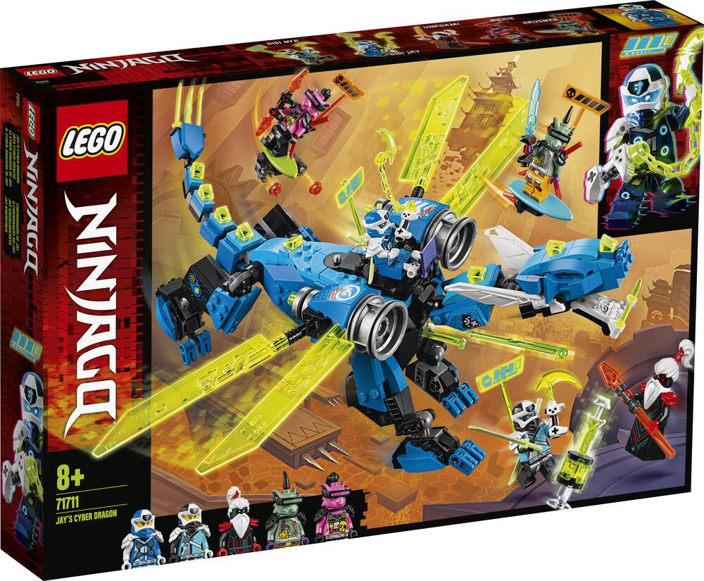 Lego Ninjago le cyber dragon de Jay