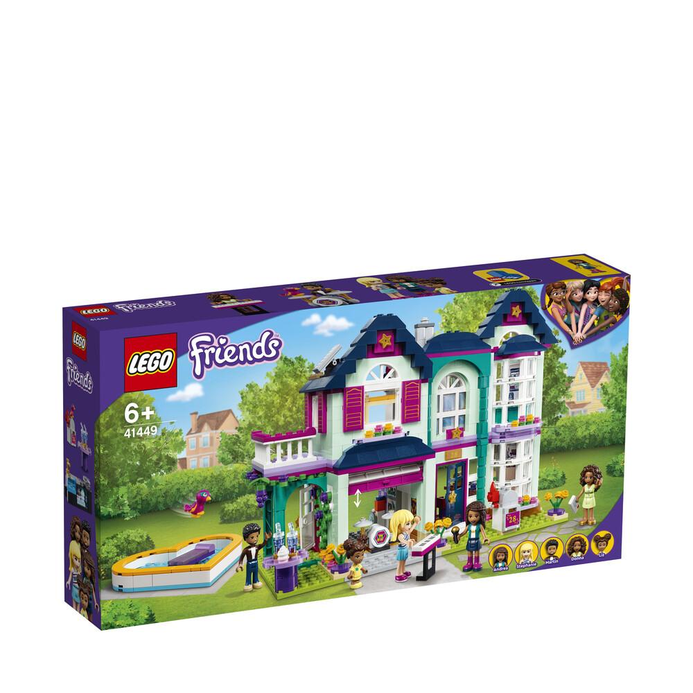 Lego Friends la maison familiale d'Andréa