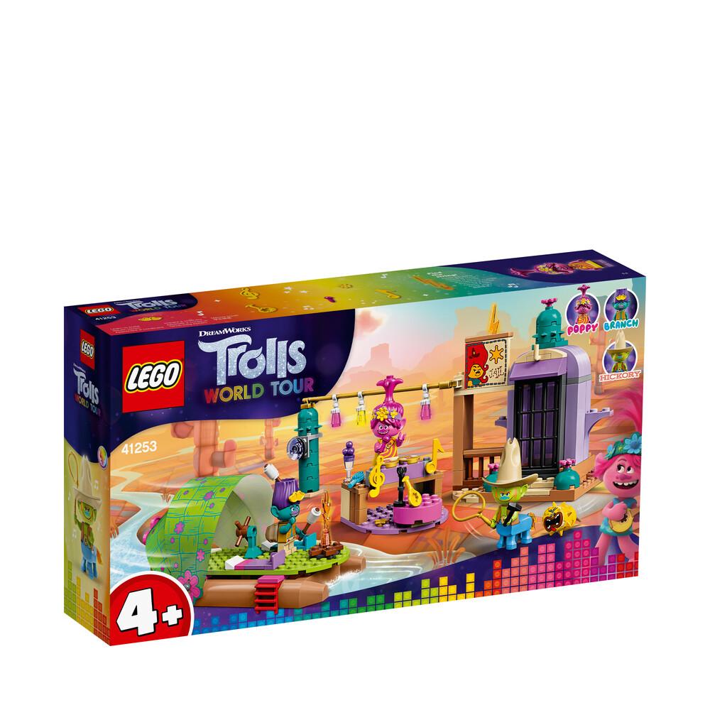Lego Trolls l'aventure en radeau de Mornebourg