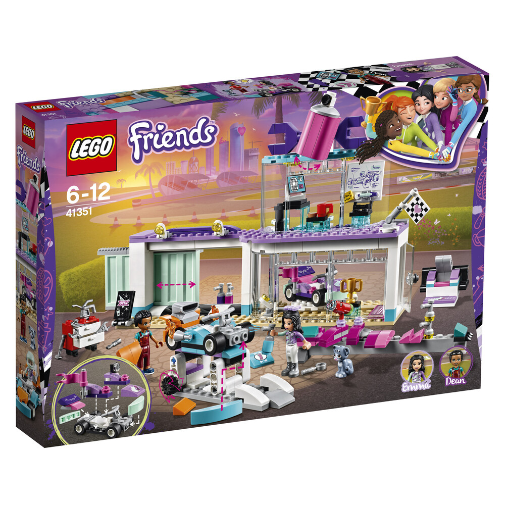 Lego Friends l'atelier de customisation de kart