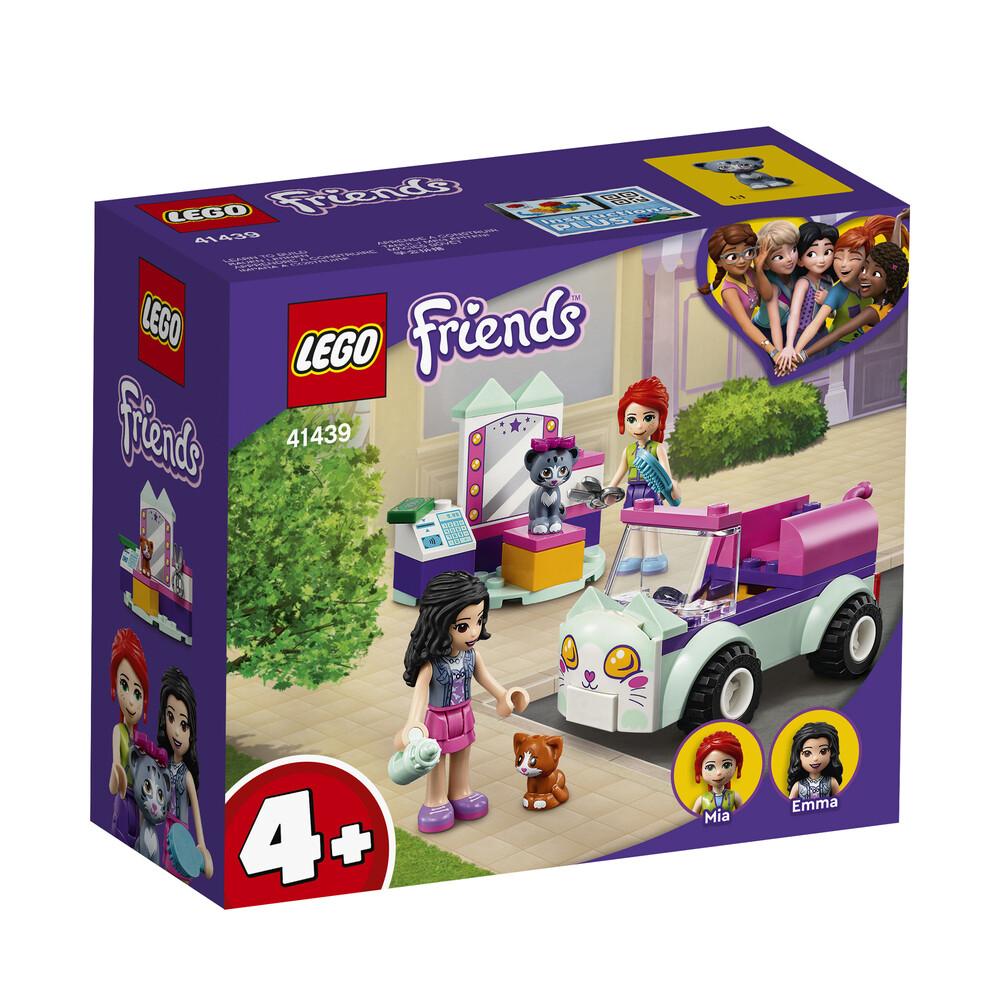 Lego Friends la voiture de toilettage pour chats