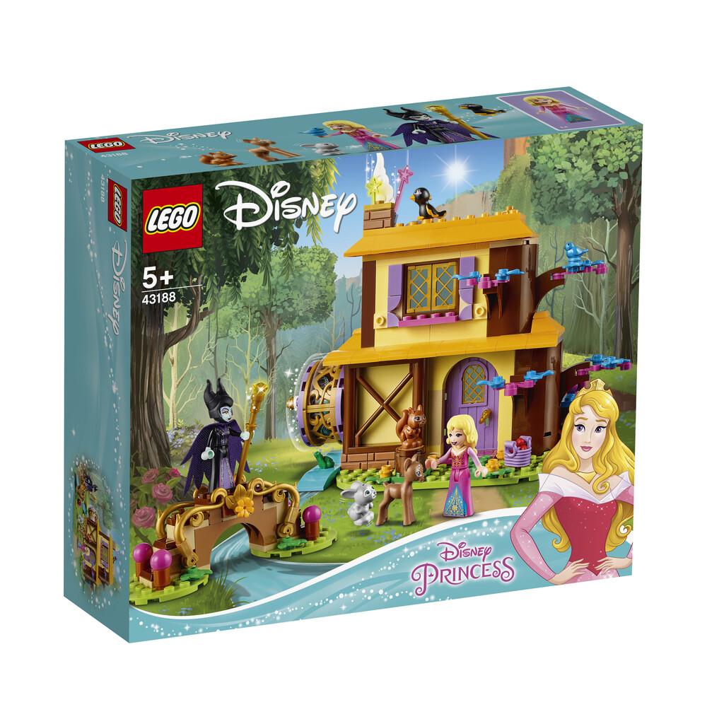 Lego Disney le chalet dans la forêt d'Aurore