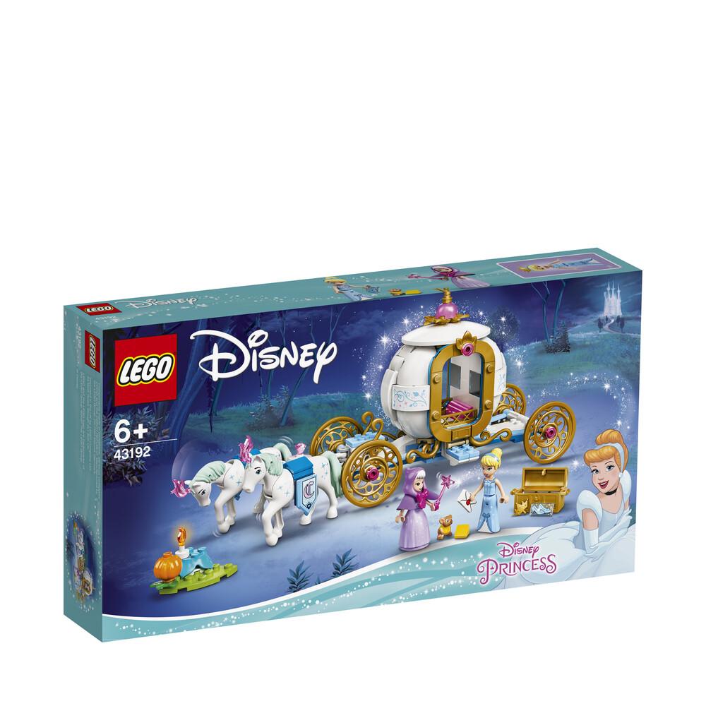 Lego Disney le carrosse royal de Cendrillon