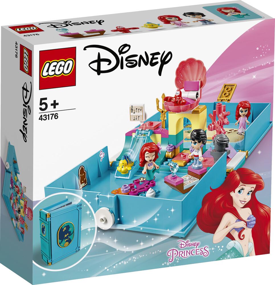 Lego Disney les aventures d'Arielle dans un livre de contes