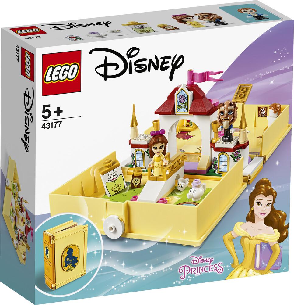 Lego Disney les aventures de Belle dans un livre de contes