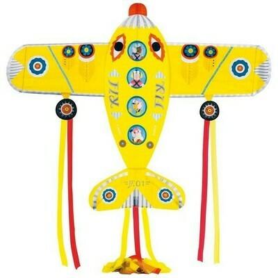 Cerf-volant Maxi Plane Djeco