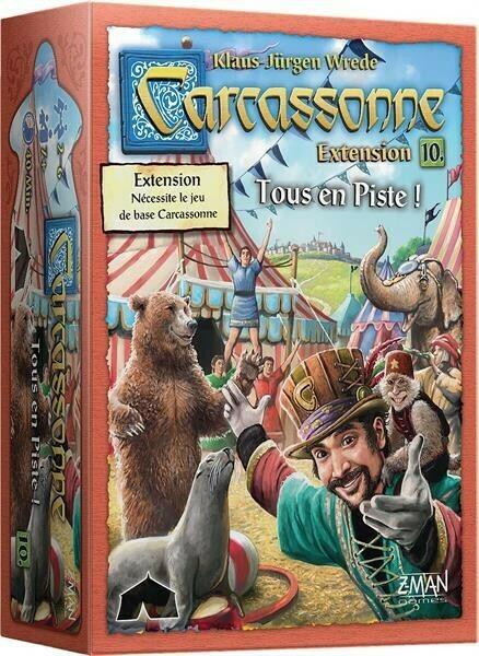 Carcassonne Extension 10 Tous en Piste!