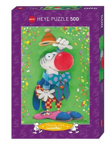 Puzzle Mordillo Thank You! 500 pièces