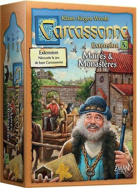 Carcassonne Extension 5 Maires et Monastères