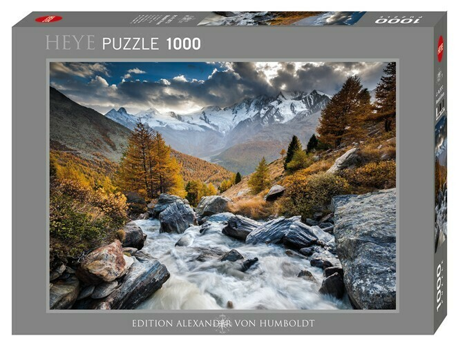 Mountain Stream puzzle 1000 pièces