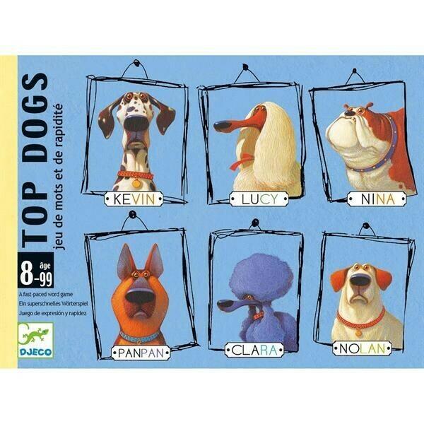 Top Dogs jeu de cartes Djeco