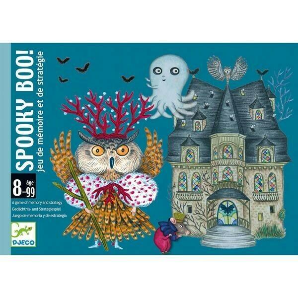 Spooky Boo jeu de cartes Djeco