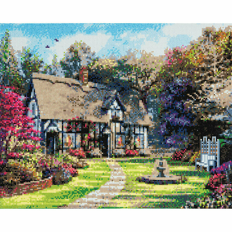 Crystal Art Country Cottage