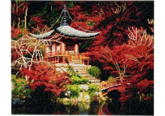 Crystal Art temple japonais