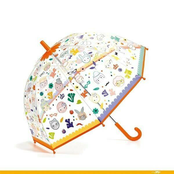 Parapluie Djeco Faces magiques