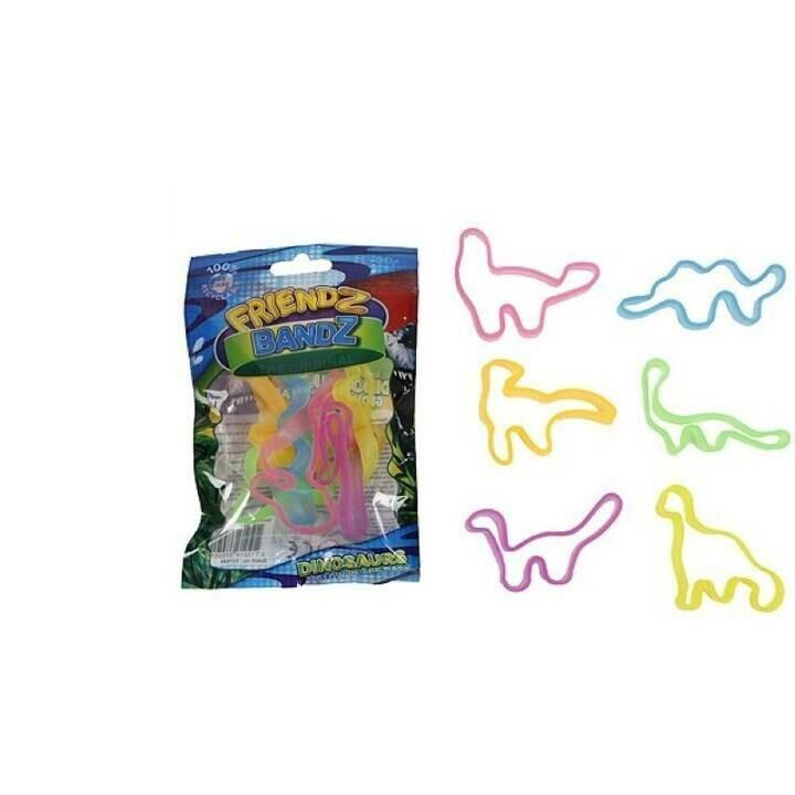 Bracelets Dinosaures brillant dans la nuit