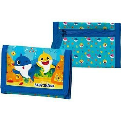 Baby Shark portemonnaie bleu