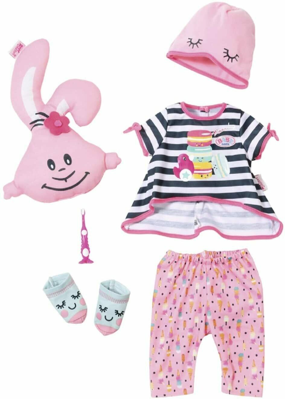 Baby Born set vêtement pyjama 6 pièces avec un oreiller inclus