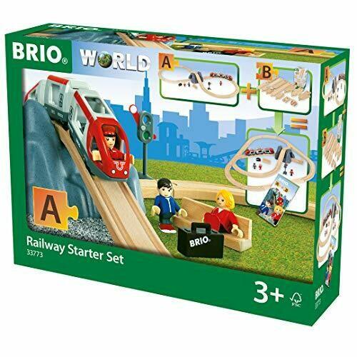 Brio train en bois Railway Starter Set 26 pièces