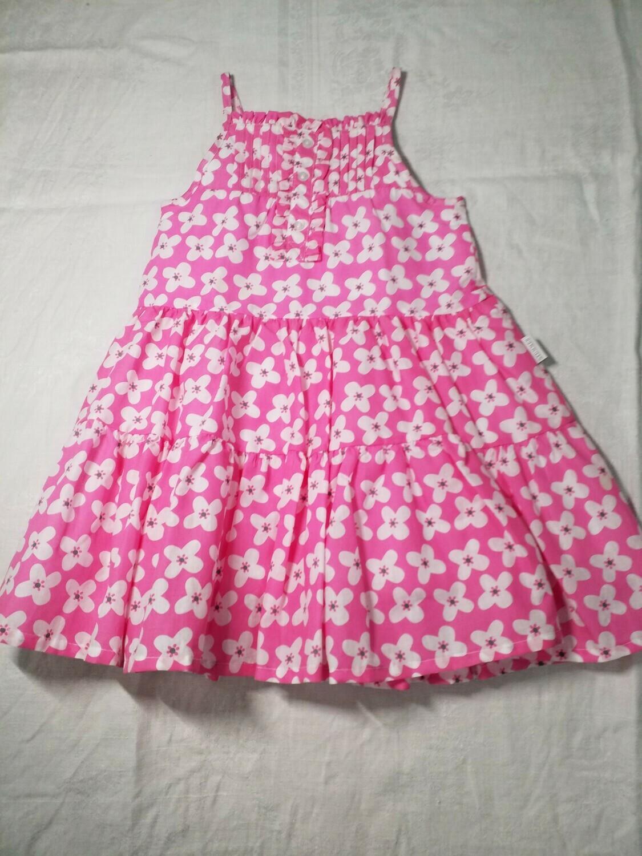 Robe rose imprimé fleurs Stummer