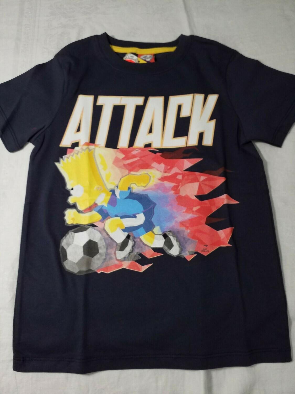 Tee shirt marine Simpson Attack