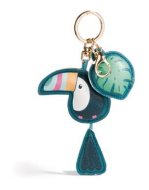 Toucan similicuir porte-clés Nici