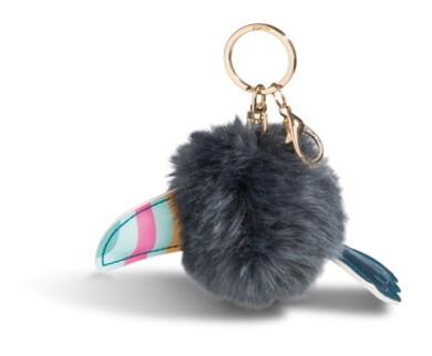 Toucan pompon porte-clés Nici