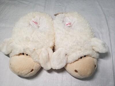 Pantoufles en peluche mouton pointure 36