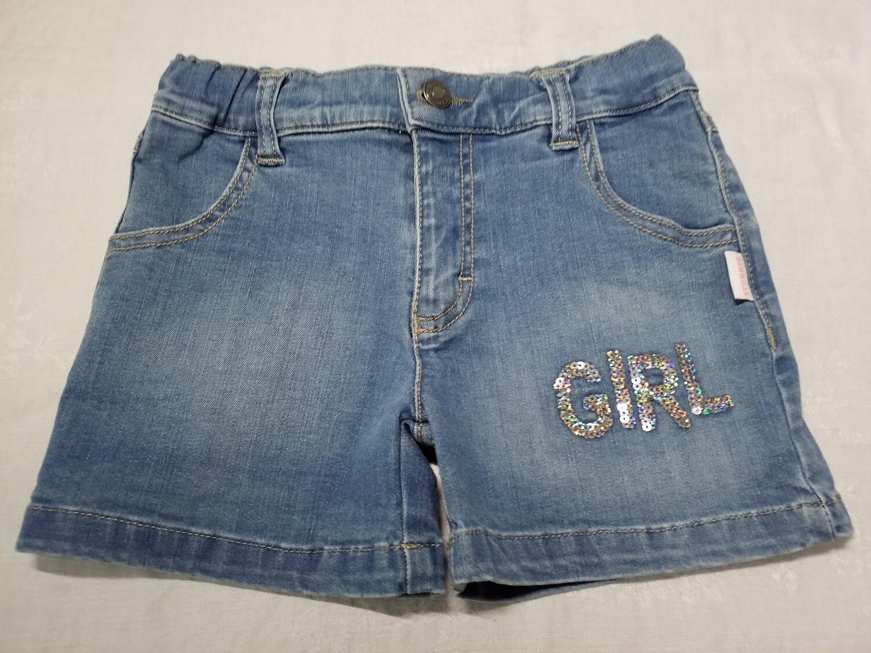 Short jeans Girl sequin Stummer