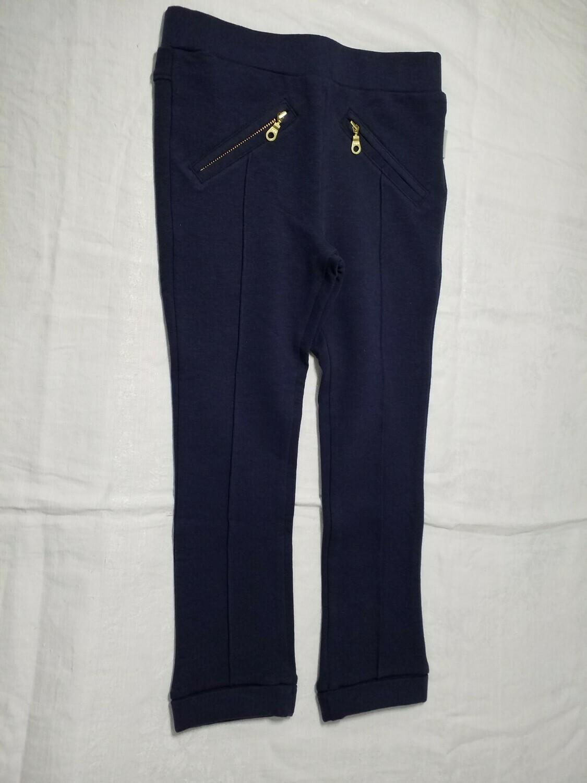 Pantalon legging marine Stummer