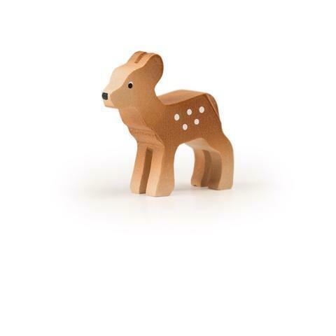 Bambi (Faon) en bois Trauffer no 1412