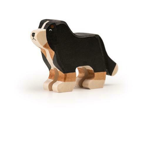 Grand chien Bouvier bernois en bois Trauffer no 1220
