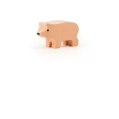 Petit cochon rose en bois Trauffer no 1213