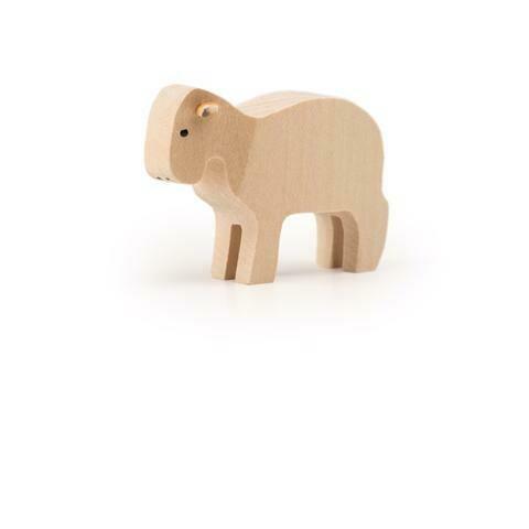 Petit mouton en bois Trauffer no 1206